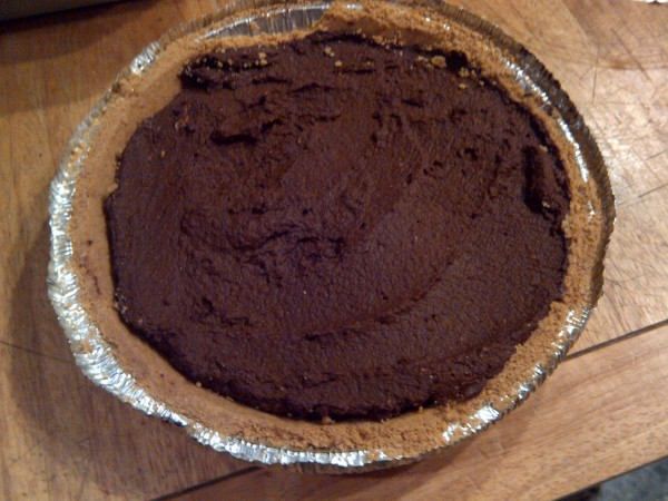 No-bake Chocolate Pumpkin Pie