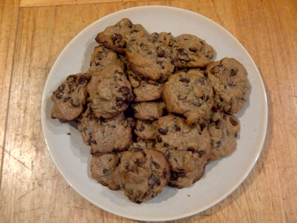 Whole Wheat Cookies Plated