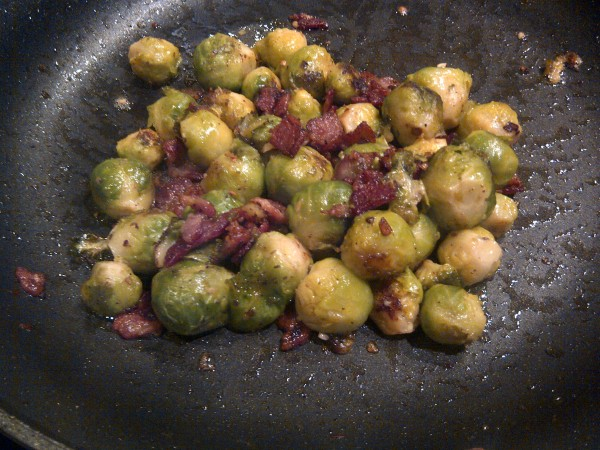 Brussels Sprouts w/Bacon
