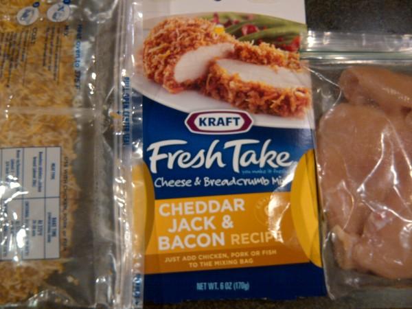 Kraft Fresh Take Cheddar Jack & Bacon Chicken   Feed Your Fussy Eater