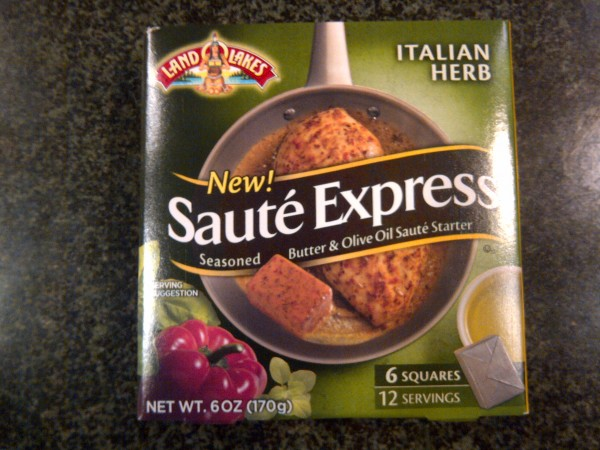 Land O Lakes Saute Express Italian Herb