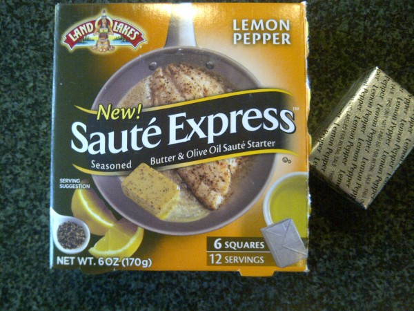 Land O' Lakes Saute Express - Lemon Pepper