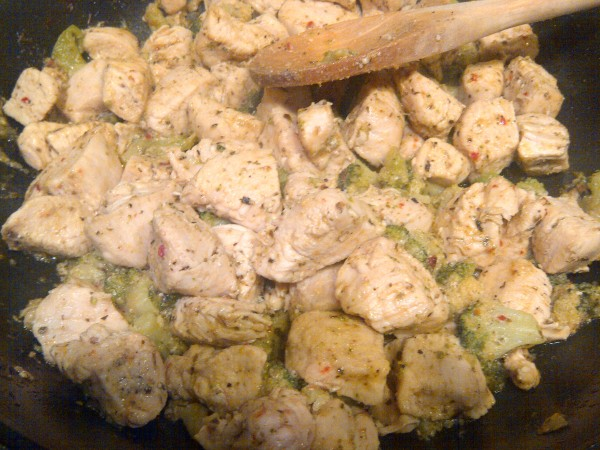 Italian Herb Chicken and Broccoli