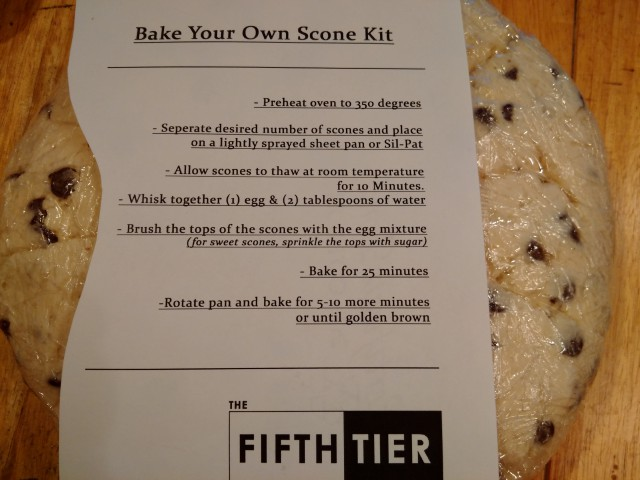 Fifth Tier Scones 2